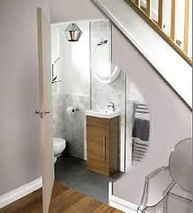 Under Stairs Toilet Home
